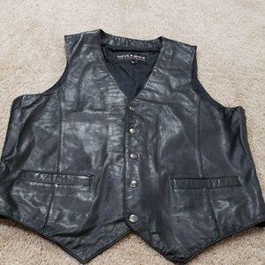 Mens Wilson's leather vest